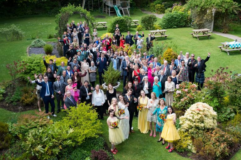 Photography of Wedding Guests at Savoy Park Hotel Ayr