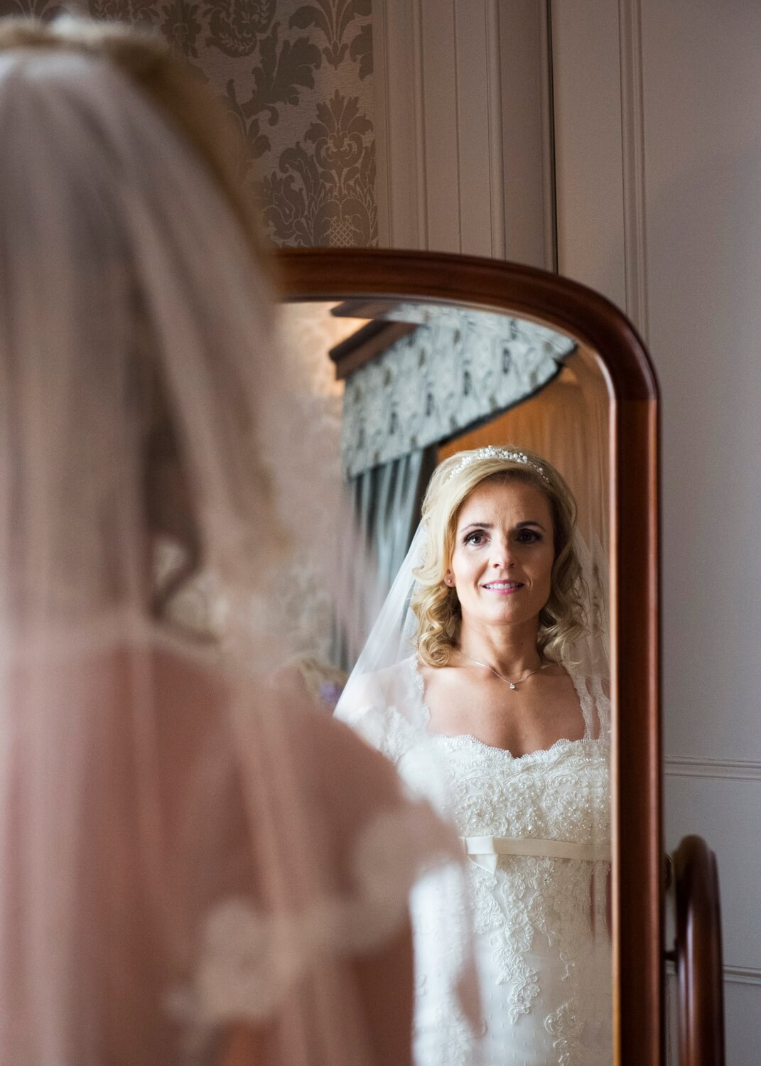 Bridal Portrait at Blairquhan Castle Ayrshire