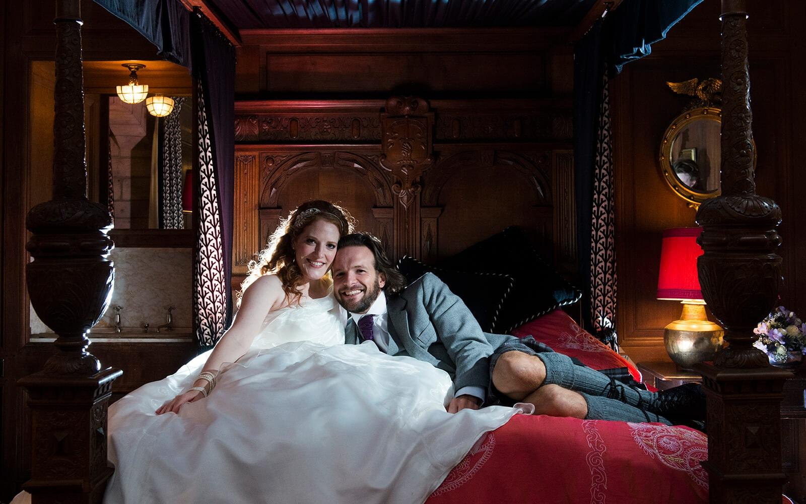 Fun wedding photographer, Ayrshire