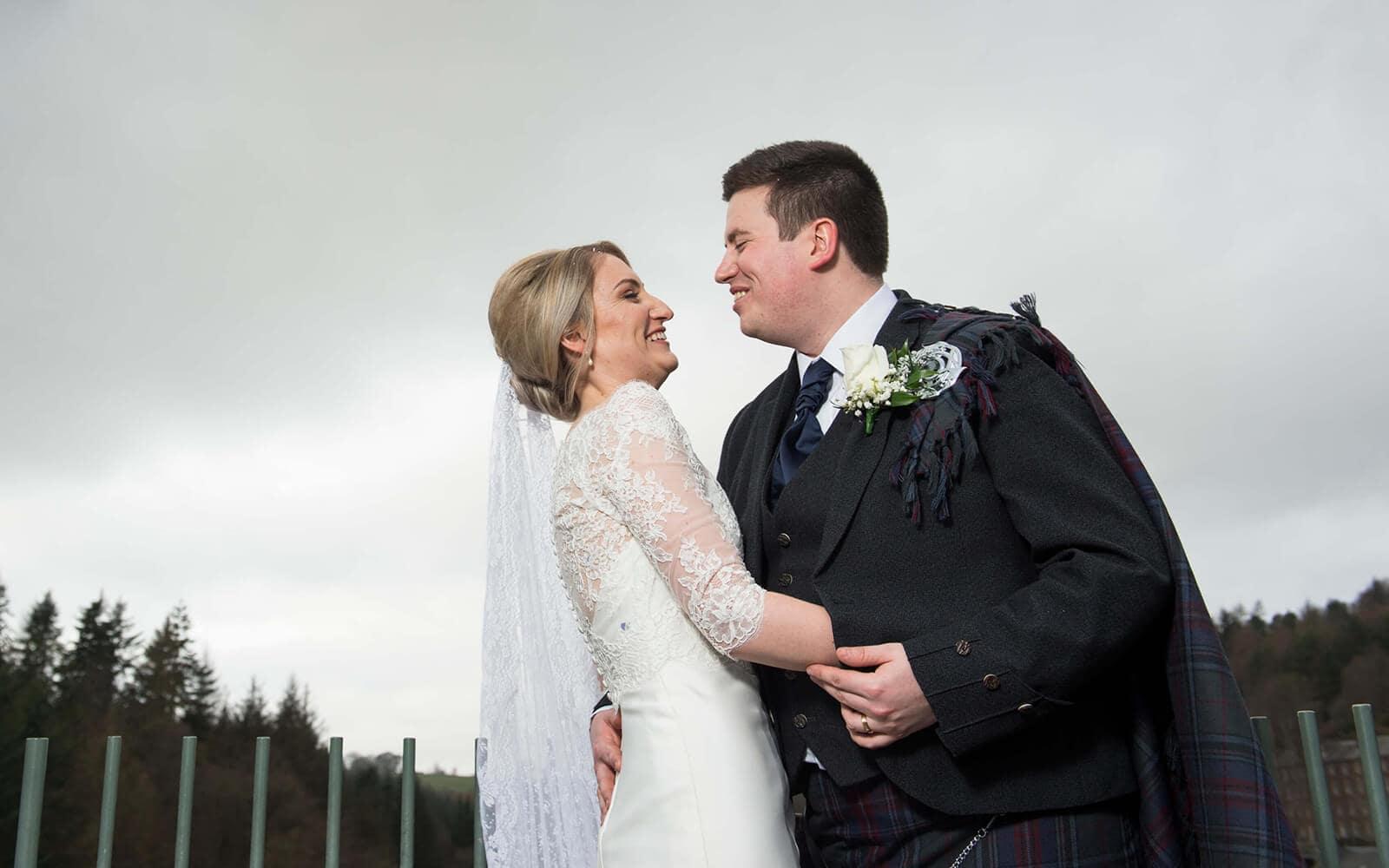 Traditional wedding photography, Ayr