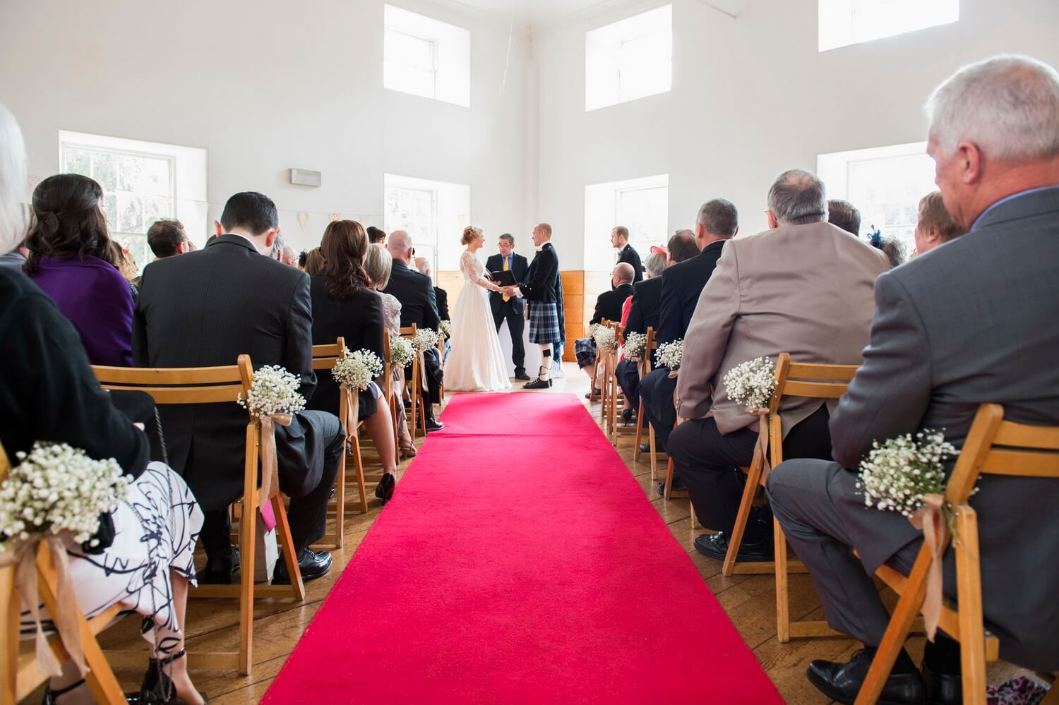 Wedding Ceremony at New Lanark