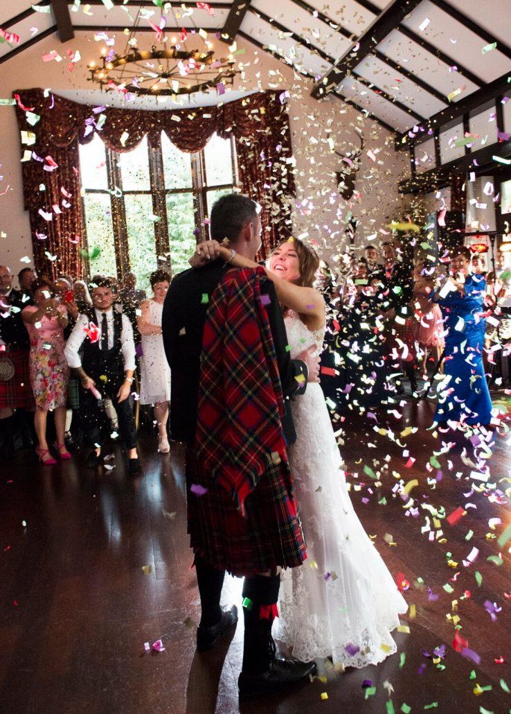 Wedding Reception Photograph at Brig O Doon Hotel Alloway Ayrshire